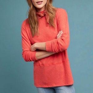 4/$25 Eri + Ali Brushed Fleece Ribbed Pullover